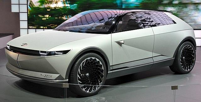 Solar roof car